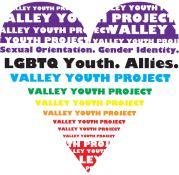 Valley Youth Project rainbow heart logo